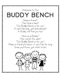 Buddy Bench Poem Sign