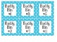 """""""Buddy Bin"""" labels- for partner reading boxes. MANY COLORS"""