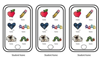 Buddy Cards for Partner Pairing- a quick, easy, & organized way to pair students