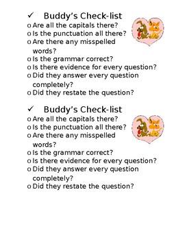 Buddy Checklist