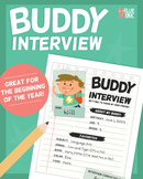 Buddy Interview – Getting to Know My New Friend!