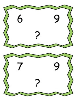 Buddy Numbers - 10 Frames - Task Cards