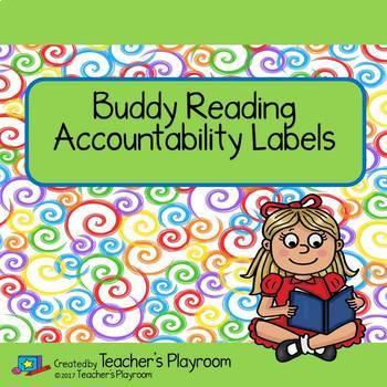 Buddy Reading Accountability Labels