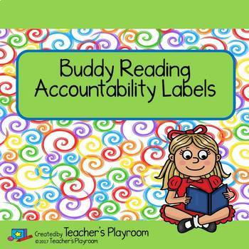 Buddy Reading Accountability Labels Freebie