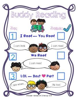 Buddy Reading-Anchor Chart