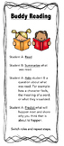 Buddy Reading Bookmark - For Younger Grades