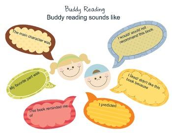 Buddy Reading Chart