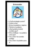 Buddy Reading Decoding Strategy Bookmark (Spanish)