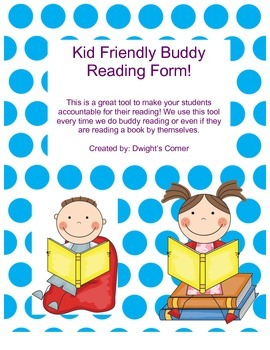 Buddy Reading Form