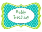 Buddy Reading Posters