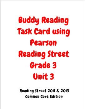 Buddy Reading Reading Street Grade 3 Unit 3