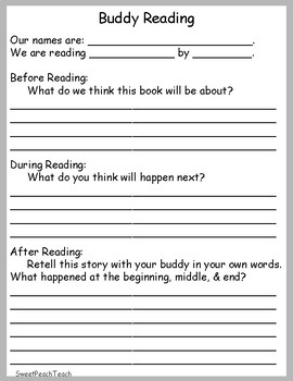 Buddy Reading Recording Page