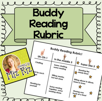 Buddy Reading Rubric for ActivInspire!