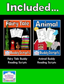 Buddy Reading Scripts Bundle - Fairy Tales and Animals!