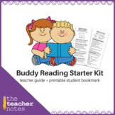Buddy Reading Starter Kit (with printable bookmark!)