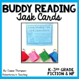 Buddy Reading Task Cards for K-3