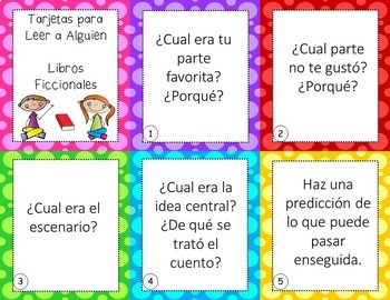 Buddy Reading Task Cards in SPANISH - EDITABLE - great for Daily 5 and Centers