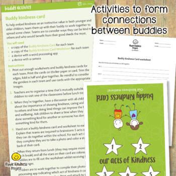 Buddy Support & Kindness Bundle - US Letter