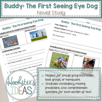 Buddy: The First Seeing Eye Dog Book Study