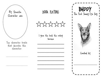 Buddy: The First Seeing Eye Dog Brochure for Guided Reading Groups