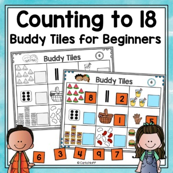 Counting to 18 - Buddy Tiles Counting Mats