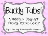 Buddy Tubs! 2 Weeks of Fact Fluency Partner Games!
