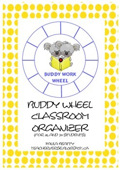 Buddy Work Wheel - Koalas