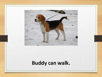 Buddy the Dog simple text reader