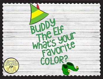 Buddy the Elf/Holiday Bulletin Board