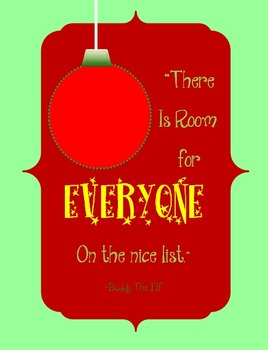 Buddy the Elf Quote Printable! {FREEBIE}