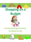 Budget Activity -  Shopping