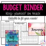 Budget Binder and Bill Tracker