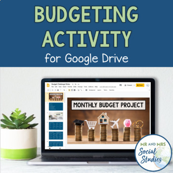 Budget Challenge Project: Monthly Budget Activity (Compatible with Google Drive)