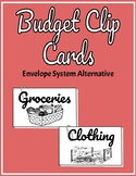 Budget Clip Cards- Alternative to the Envelope System
