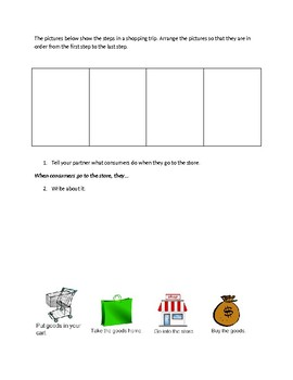 Budget- Math Problem and Sorting Activity