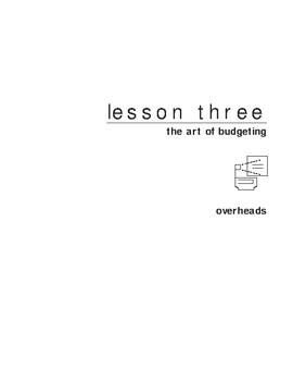 Budget Practice
