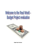 Budget Project Evaluation
