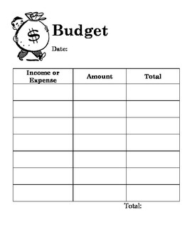 """Budget Project """"Game of Life"""""""