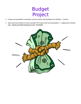 Budget Project in Excel