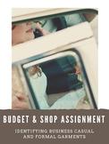 Budget & Shop Assignment: Chicago Wedding