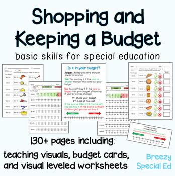 budget worksheets do you have enough money life skill math for special ed. Black Bedroom Furniture Sets. Home Design Ideas