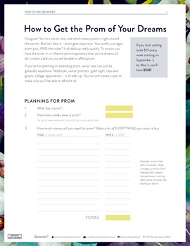 Budgeting 101: How to Get the Prom of Your Dreams