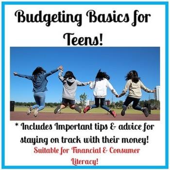 Budget Basics Worksheet 1 - Worksheet List