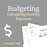 Budgeting | Calculating Monthly Expenses