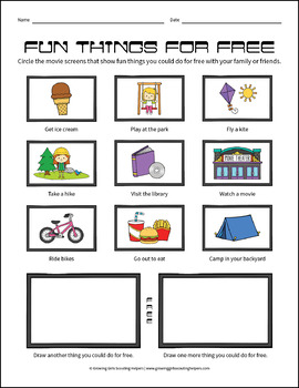 """Budgeting Fun - Girl Scout Daisies - """"Money Counts"""" Activity Pack (Step 3)"""