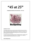 Budgeting Project - Personal Finance