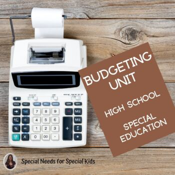 Budgeting Unit for High School Special Education