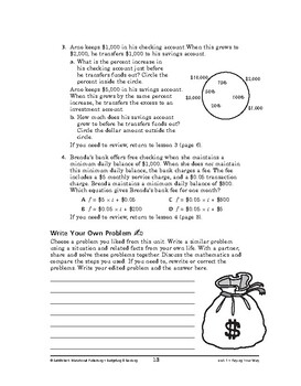 Budgeting and Banking Math: Paying Your Way-REVIEW