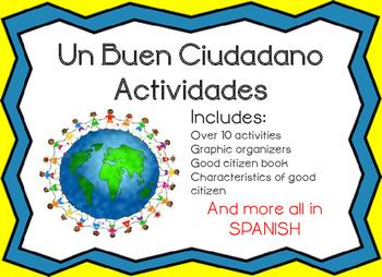 Buen Cuidadano Actividades Good Citizen Activity Bundle