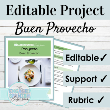 Spanish Restaurant Review Project for Commands with Object Pronouns